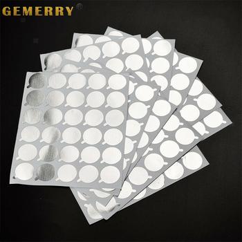 300 sztuk jednorazowe naklejki paleta klej do rzęs uchwyt papieru przedłużanie rzęs naklejki stojak na Lash dostaw 2 1cm tanie i dobre opinie Gemerry CN (pochodzenie) Disposable Glue Sticker 300 PCS