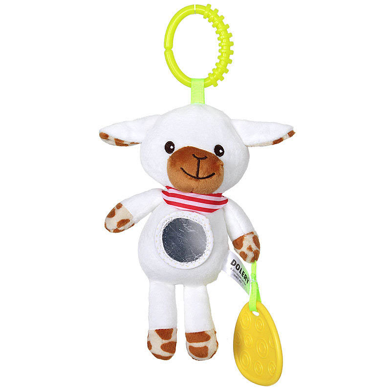 Baby Or Newborn Animal Bedside Pendant Bedbell Plush Fabric Rattle Baby Hanging Bed Toy Hanging Bell Wind Chime Toys Collection