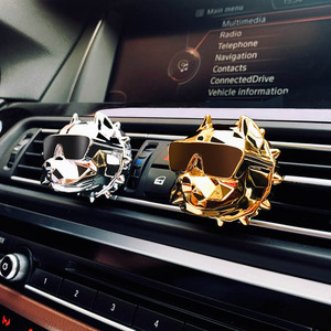 Image 2 - Bulldog Car Perfume Fragrance Scent Car Air Freshener Smell in the Car Styling Distributor Auto Vents Scent Car Accessories