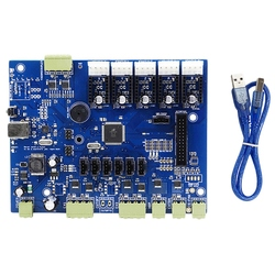 Replicator G Mighty Board With Ic Atmega1280-16Au+Cable For Makerbot 3D Printer 8 Dja99