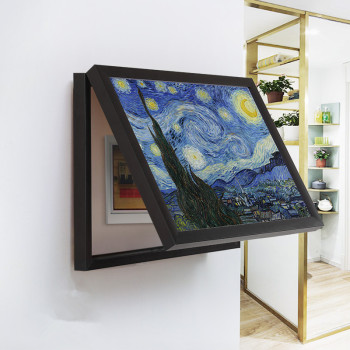 Electric Meter Box Decorative Painting Power Cover Switch Hide Paintings Wall Decoration Canvas Poster