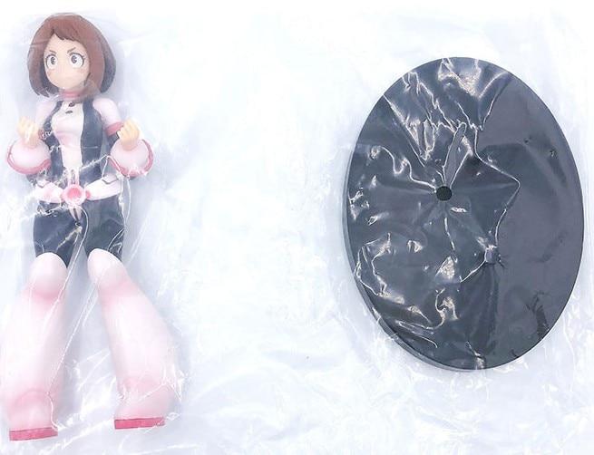 Free Shipping Anime Boku no Hero Academia OCHACO URARAKA PVC Action Figure Toys anime OCHACO URARAKA model toy Xmas gift B19 3