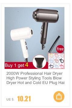 Profissional 1600w forte potência secador de cabelo