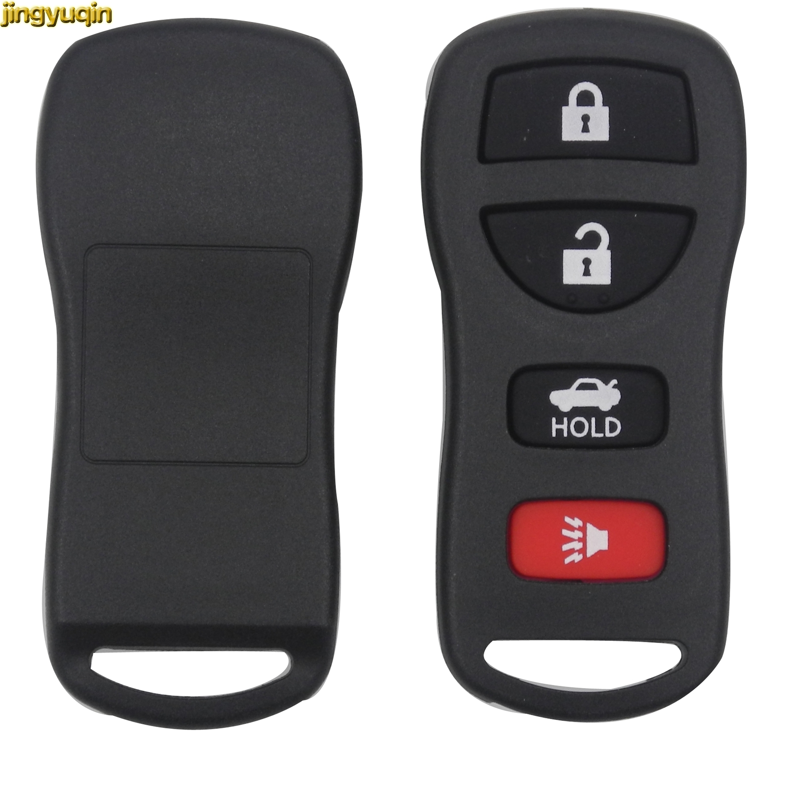 Remote Car Key Shell for Nissan Sentra Armada 350Z Altima Maxima Infiniti FX35 EX35 FX45 QX56 G35 M45 I35 Key Fob Case Cover