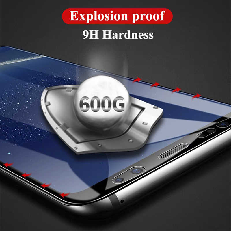 Чехол из закаленного стекла для телефона samsung s6 s7 edge s8 s9 s10 plus s10e lite note 8 9 чехол защитный чехол Аксессуары для galaxy