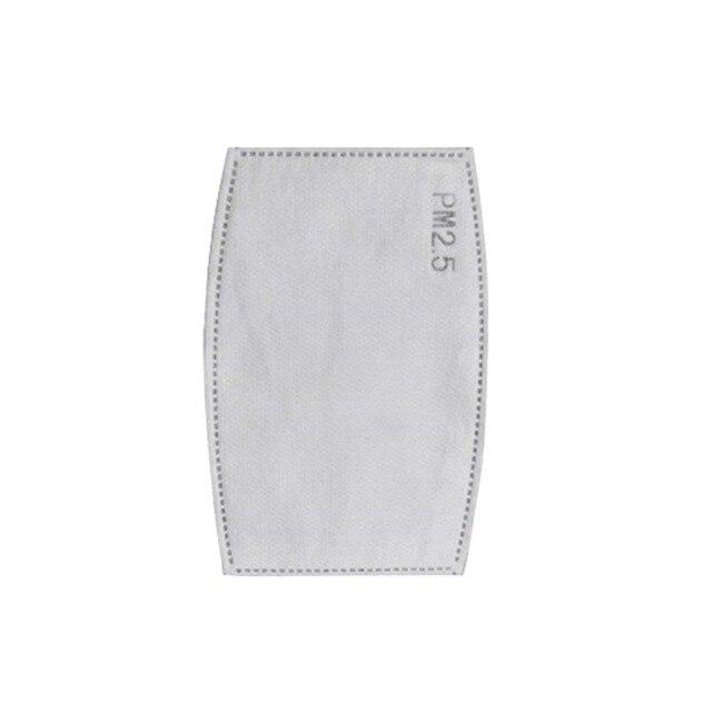 100PCS PM 2.5 Filter Mouth Paper Face Mouth Masks Dustproof Mask Protective Cover Masks Set Heath Care DHL/FEDEX Express 1
