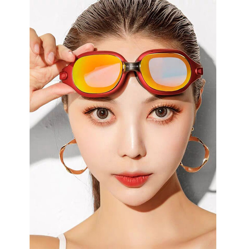 New Swimming glasses Adults professional Men Women Anti Fog Waterproof Swim eyewear natacion Swimming goggles Diving mask