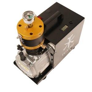 Image 3 - Compressore elettrico di arresto automatico regolabile del compressore ad alta pressione PCP di TUXING 4500Psi per il serbatoio pneumatico del fucile