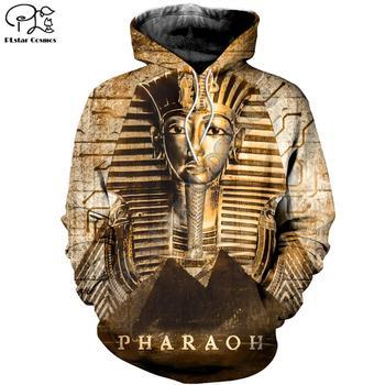 PLstar Cosmos Horus Egyptian God Eye of Egypt Pharaoh Art Tracksuit Casual 3DPrint Hoodie/Sweatshirt/Jacket/Men Women s19