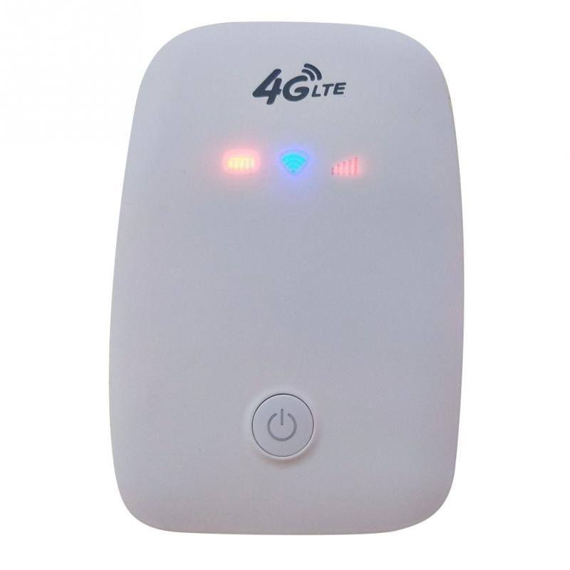 Portable 4G Wireless Router 150Mbps WiFi Wireless Router Sim Slot Mobile Wireless Mobile Hotspot For Car Outdoor 3G 4G Not 5G