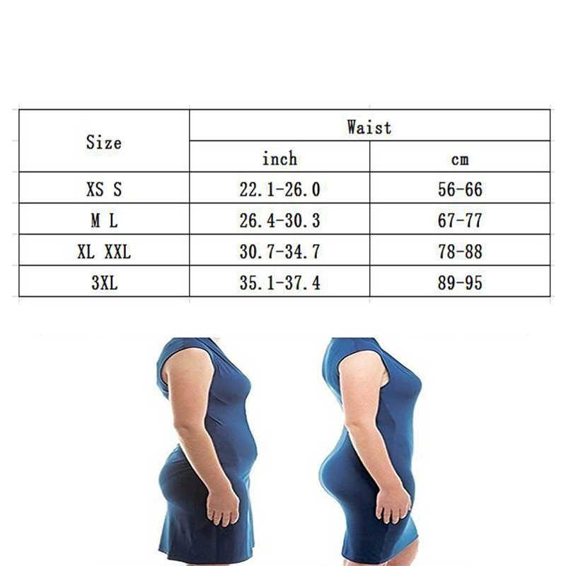 Vrouwen Hoge Taille Panty Korte Body Shaper Tummy Controle Riem Ondergoed Buik Shapewear Slipje Thong Gordel Butt Lifter Shapers