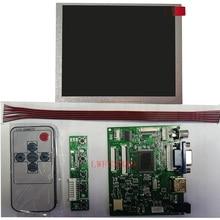 Новый набор для измерения уровня HDMI + VGA + 2AV Управление драйвер платы с 640x480 5