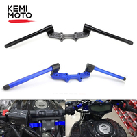 KEMiMOTO For YAMAHA MT 07 FZ 07 MT 07 MT07 Motorcycle Accessories Adjustable Handlebars Handle Bar With Clamp Kit 2014 2015 2016