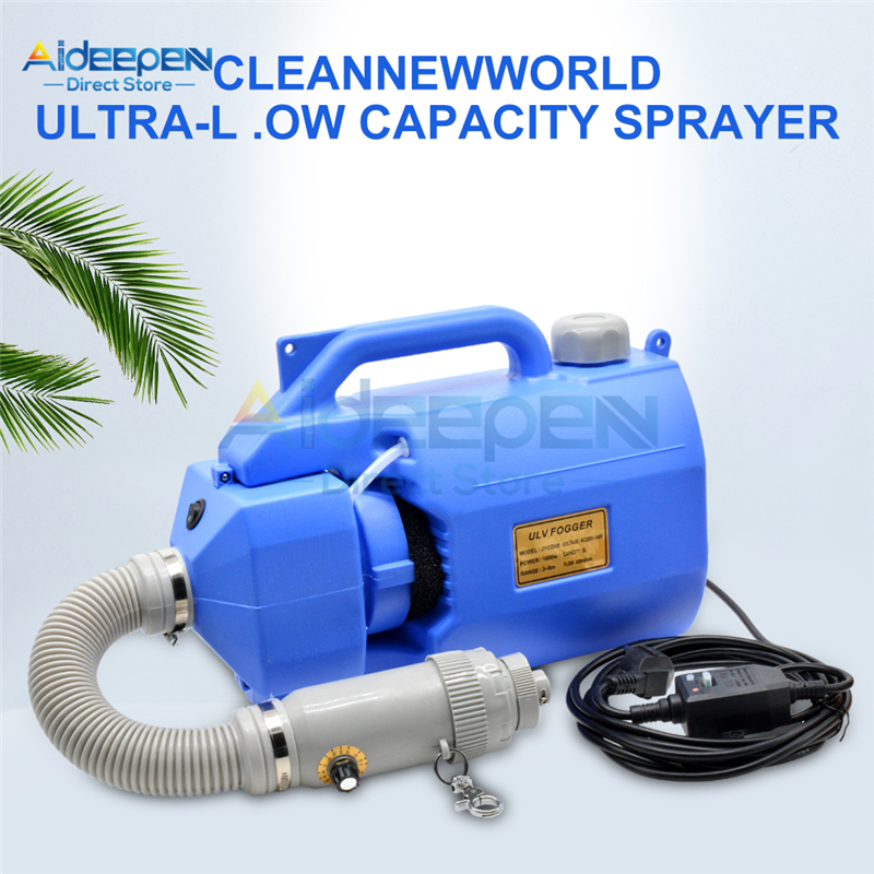 110V 220V Portable 5L Sprayer Mosquito Killer Disinfection Machine Insecticide Atomizer Drugs Electric ULV Fogger Ultra Capacity