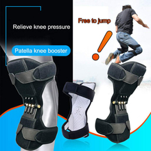 Breathable Non-slip Knee Booster Joint Support Braces Pad Sports Patella Protector Protection