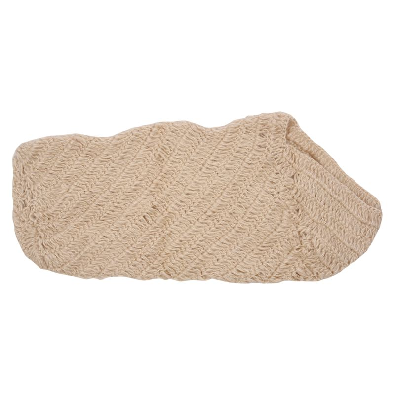 Baby Infant Newborn Handmade Crochet Sleeping Bag Clothes Photograph Props Set Beige