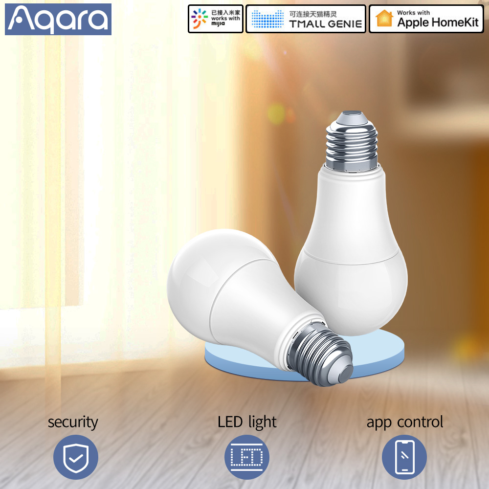 Aqara Smart Bulb Smart Lamp White Color LED Lamp Light Work With Smart Home Kit And For MiHome App