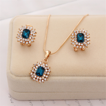 Womens Crystal Jewelry Sets