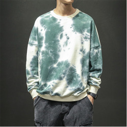 Hoodies Men Fashion Print Casual O-neck Cotton Pullover Man Hoodie Streetwear Hip Hop Loose Sweatshirt Male Large Size M-5XL