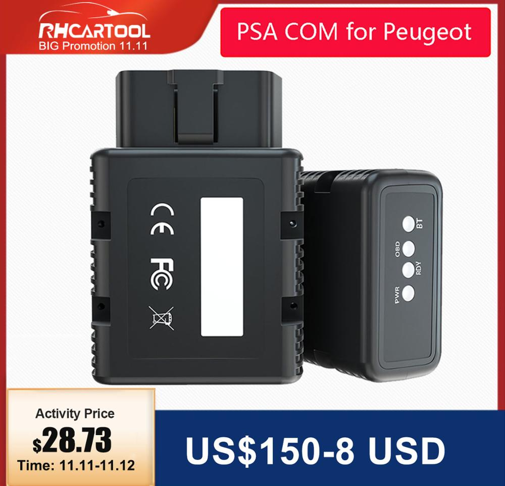 OBD2 New Arrival PSA-COM PSACOM for Peugeot for Citroen Replacement of Lexia-3 PP2000 PSA COM Bluetooth Diagnostic amp Programming