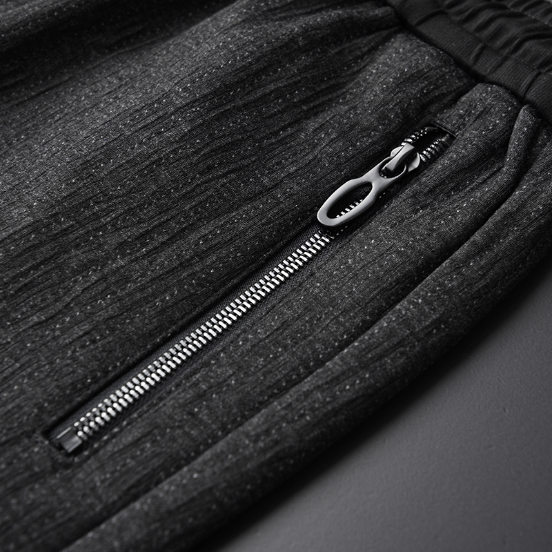 Новый осенний и зимний свободный Зимний толстый пуховик, Толстая черная мужская одежда - 4