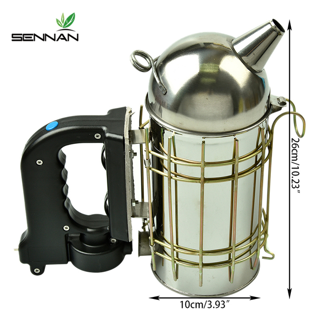 Stainless Steel Electric Bee Smoke Transmitter Apiculture Kit 6