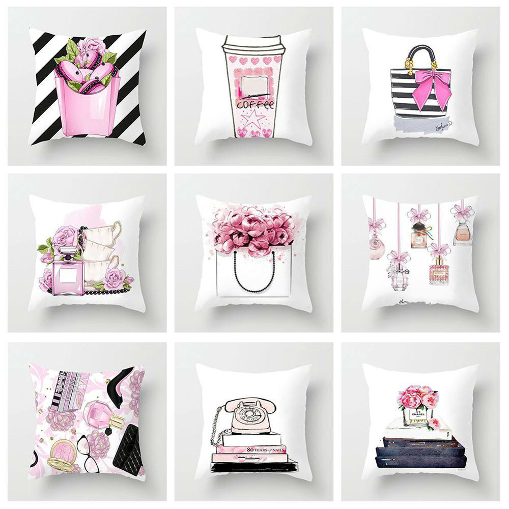 Best Top Perfume Bottle Pillow Cover Ideas And Get Free Shipping A84