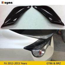 Trd Стиль углеродного волокна задний багажник боковой пойлер