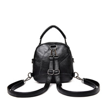 2020 new top layer cow leather women's fashionable leather backpack in Europe and America Summer Single Shoulder Bag
