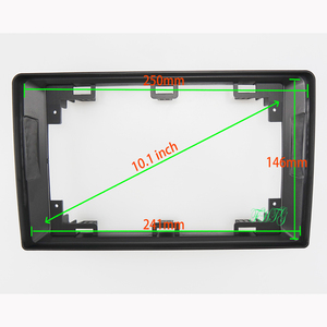 Image 1 - 10.1 inch Fasxia Car Audio Frame Car Radio Fascia,gps navigation fascia panel is suitable 1998 2008MAZDA 323/ISAMU/PREEMACY