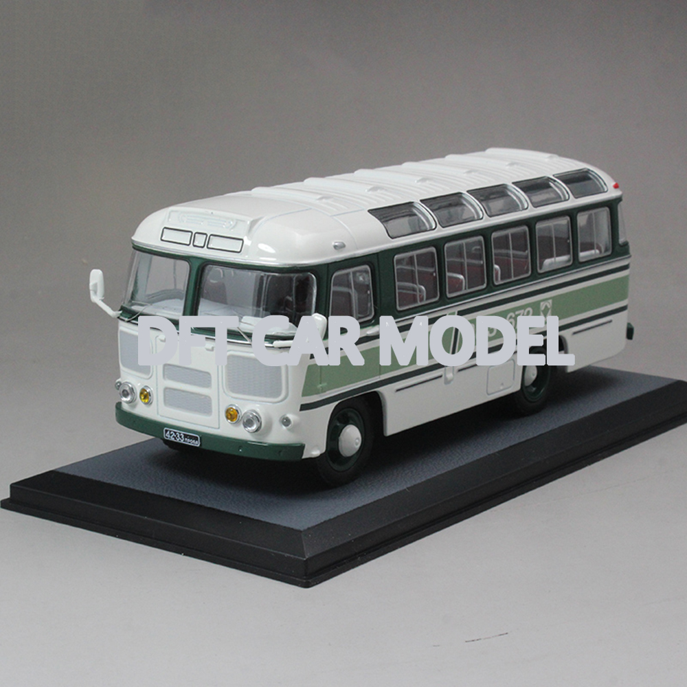 1:43 Scale Alloy Toy PAZ672 Model Of Children's Toy Bus Original Authorized Authentic Kids Toys