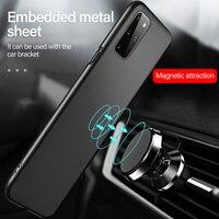 Funda de teléfono para Samsung Galaxy S21 S20 FE S10 E S9 Note 20 10 9 8 Plus, cubierta de protección esmerilada