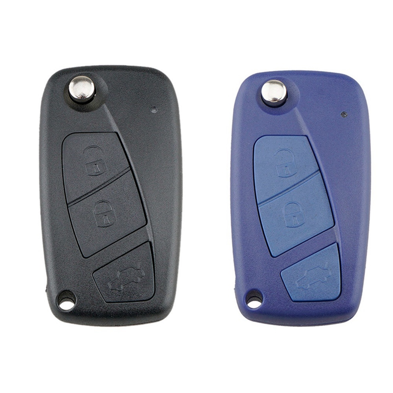 3 Button Key Case Flip Folding Remote Car Key Shell Case Cover For FIAT