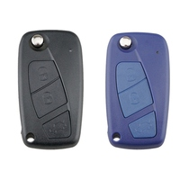 3 Button Key Case Flip Folding Remote Car Key Shell Case Cover For FIAT|Key Case for Car| |  -