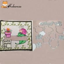 Kokorosa Simple Clear Stamps Animals Rubber Stamp Scrapbooking Album Decor Transparent Decoration