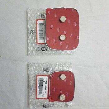 NEW 2pcs OEM Red H FRONT REAR EMBLEM BADGE 123mm x 100mm 92mm x 75mm  for 7TH GEN ACCORD INSPIRE SEDAN 2003-2005