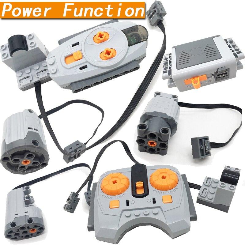 Funções de energia técnica servo motor polaridade interruptor luz definir velocidade ir controle remoto receptor caixa bateria peças técnica