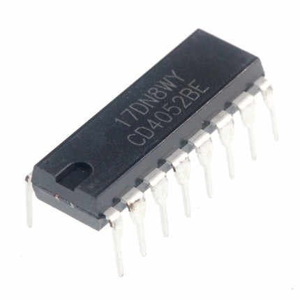 1PCS CD4052BE DIP16 CD4052 DIP 4052BE DIP-16 neue und original IC