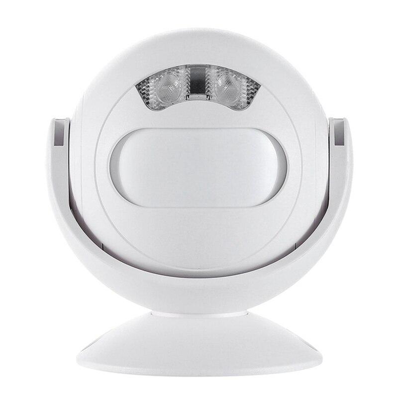 3-In-1 Wireless Infrared Sensor Doorbell Custom Voice Sensor Infrared Sensor Welcome Doorbell Home Lantern Night Light