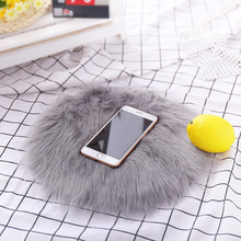 Soft Artificial Sheepskin Rug Chair Cover Artificial Wool Warm Hairy Carpet Seat Pad Mats For Home Enfeites De Natal#20