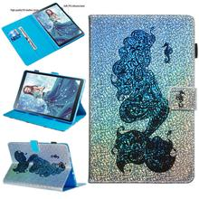 For Samsung Galaxy Tab A 10.5 2018 SM-T590 T595 T597 Case Soft TPU Back Smart Cover inch