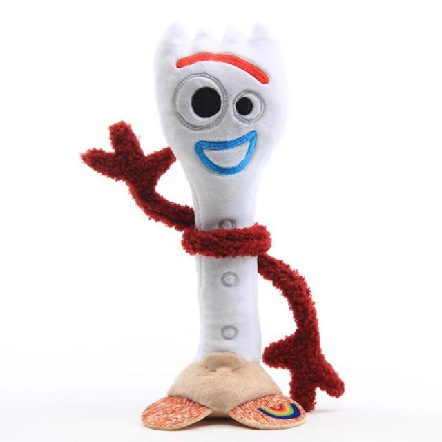 28cm Forky Plush Stuffed Toys High Quality Soft Stuffed Forky Doll Toy Story 4 Action Figure Toys for Children Gift