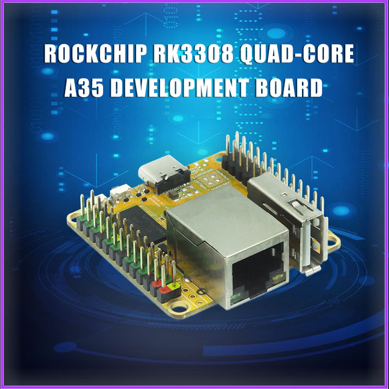ROCK PI S Rockchip RK3308 Quad-core A35 Development Board V1.2 Version Suitable For IoT Smart Speakers