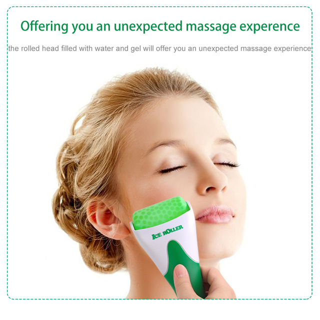 Face Roller Cool Ice Roller Massager Skin Lifting Tool Pain Relief Face Massage Anti-wrinkles Skin Massage Beauty Care Roller