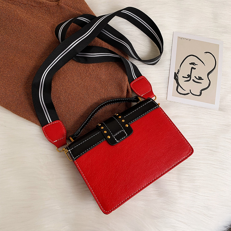 H55e42983080244f2943123747e53da9cB - Female Fashion Handbags Popular Girls Crossbody Bags Totes Woman Metal Lion Head  Shoulder Purse Mini Square Messenger Bag