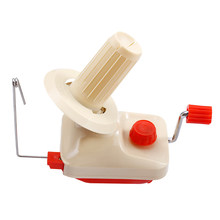 Jiwuo Hand Operated Knitting Machine Handheld Yarn Winder Fiber String Line Ball Winding Manual Wool Winder Sewing Accessories(China)