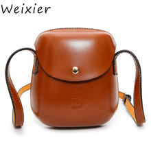 WEIXIER Women Bag Trending Personality Retro Mini Shoulder Round Lovely Leisure Saddle Messenger Pack Hot Sale ZK-09