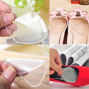 Insoles Relief-Shoes Gel Cushion-Gel-Pads 2-Pair 4pcs Flat-Feet Pain High-Heels Non-Slip