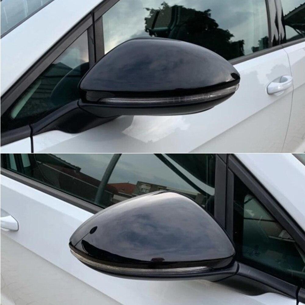 Для VW GOLF 7 MK7.5 Mk7 GTI R GTE GTD 2013-18 Touran 2016 2017 боковое крыло зеркало заднего вида накладка замена крышки чехол