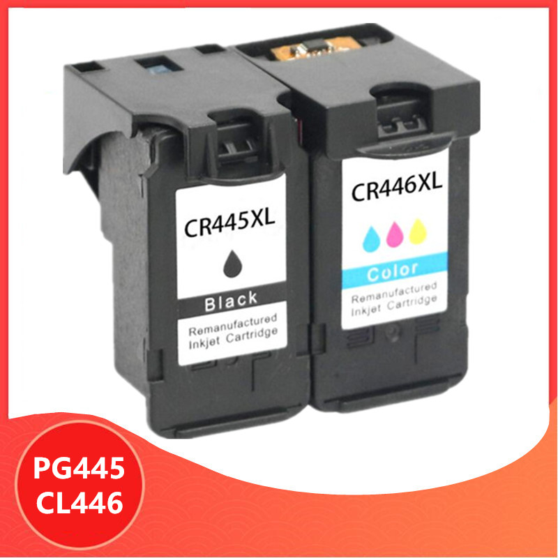 PG-445 PG445 CL-446 XL Ink Cartridge for <font><b>Canon</b></font> PG 445 CL 446 for <font><b>Canon</b></font> <font><b>PIXMA</b></font> MX494 MG2440 MG2940 MG2540 <font><b>MG2540S</b></font> IP2840 image